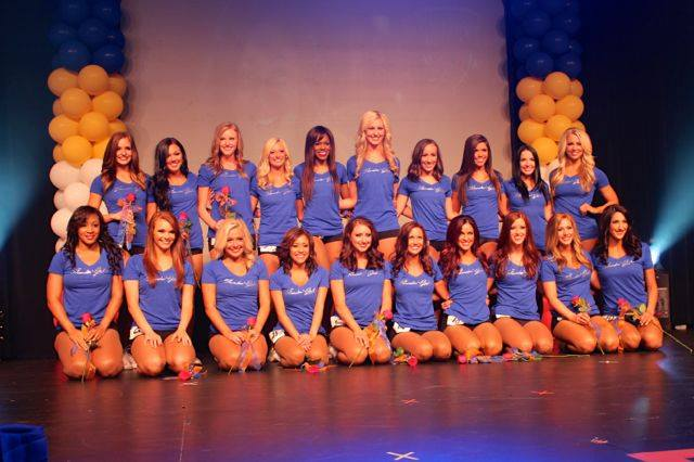 Thunder Girls Auditions