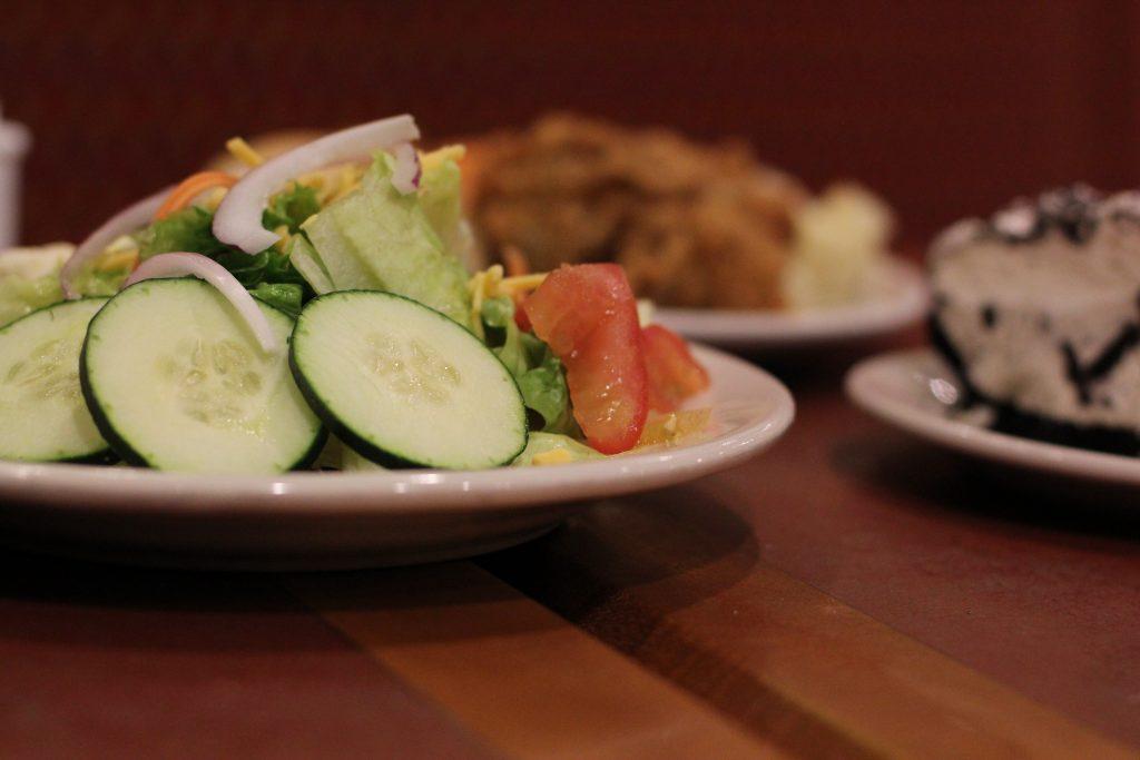 Baked Potato, Soup and Salad Station