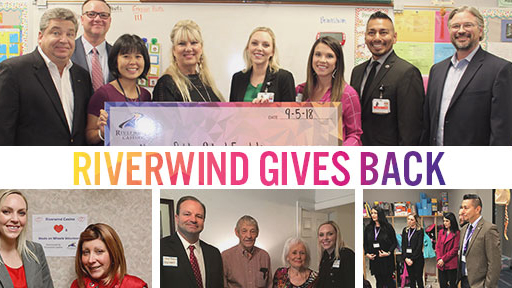 Riverwind Gives Back