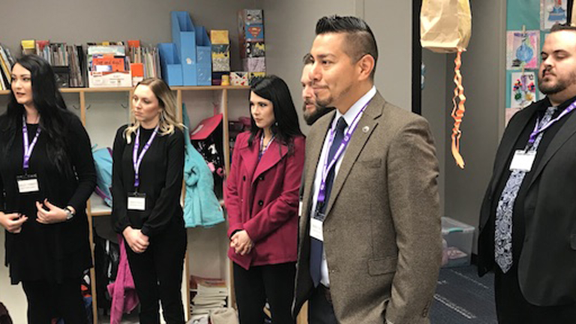 Riverwind Team Members Become Principal for a Day